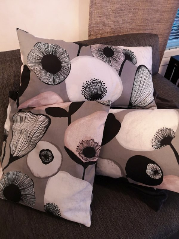 ompelija Kouvola sohvatyynyt tyynynpaalliset